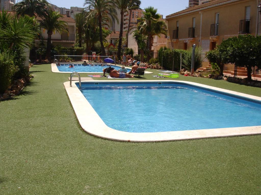 Het zwembad bij of vlak bij Rinconada Real - Zand Properties