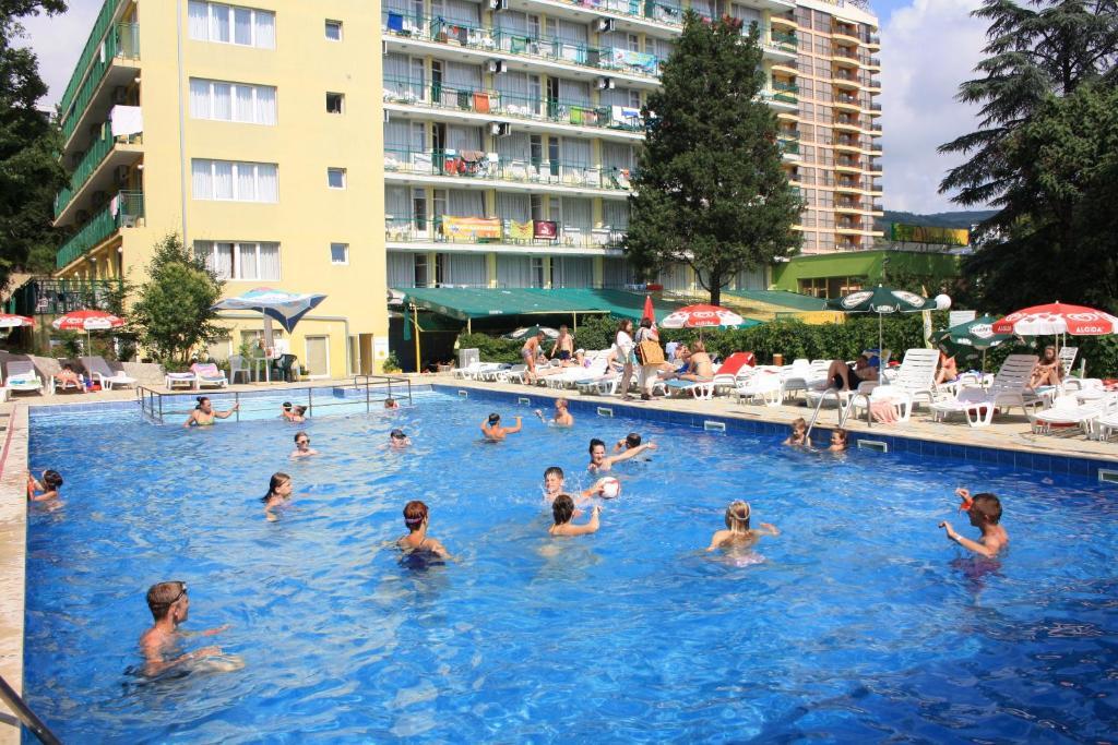 The swimming pool at or near Sunny Varshava Hotel