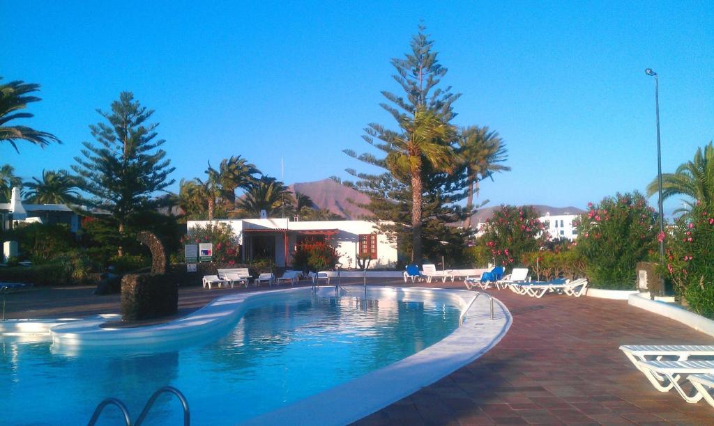 Het zwembad bij of vlak bij Casas del Sol