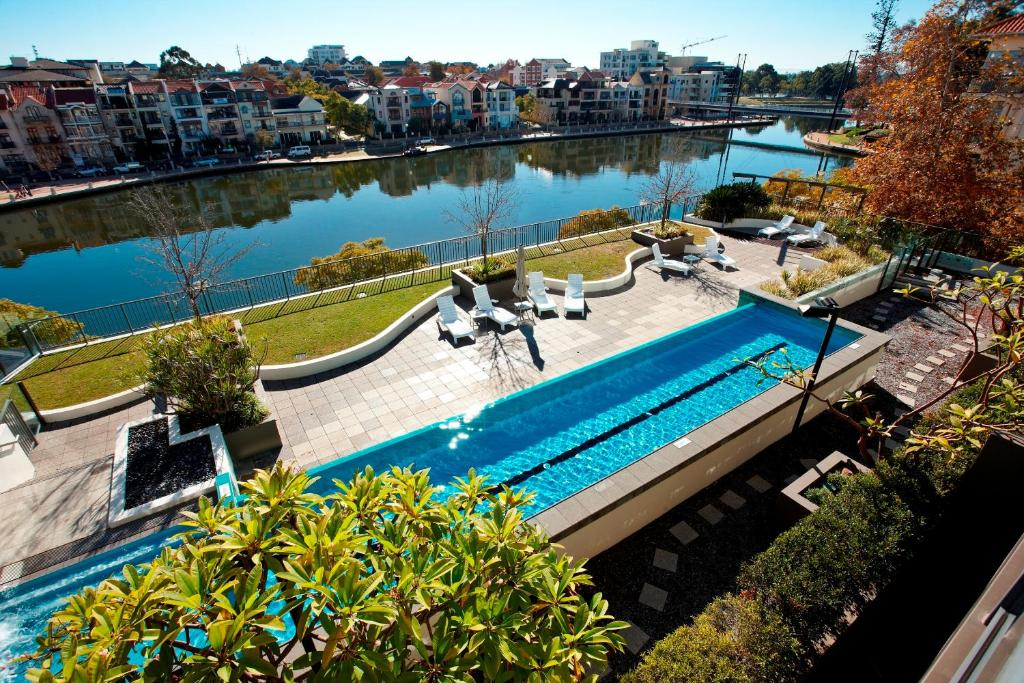 A view of the pool at The Sebel East Perth or nearby