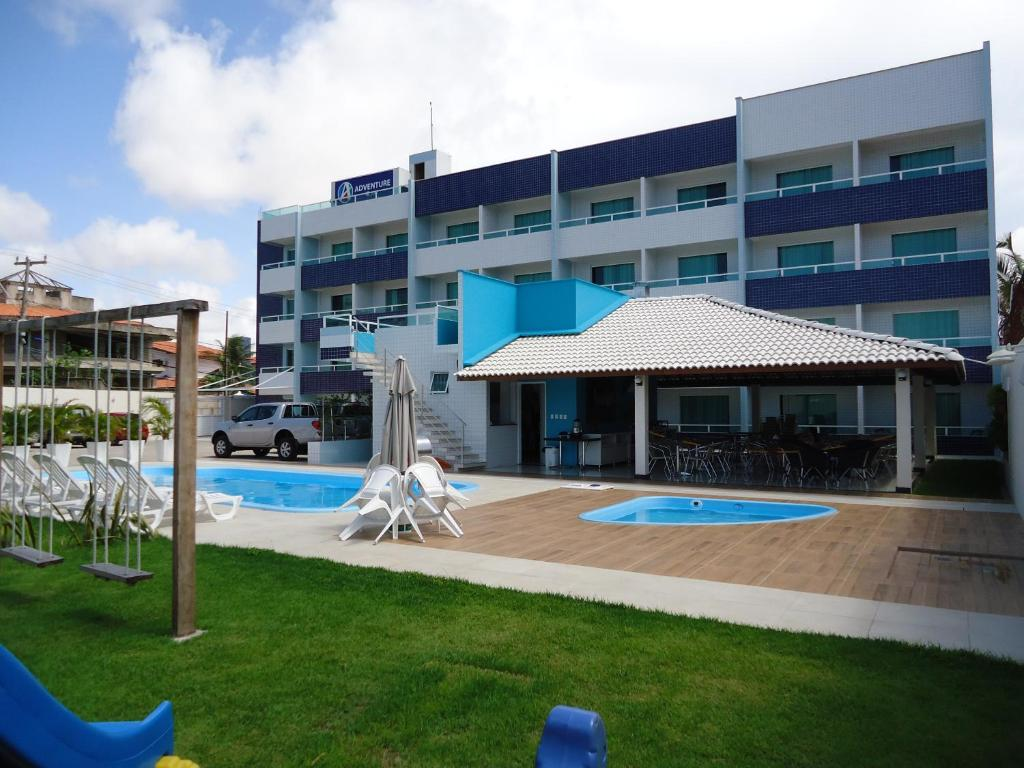 The swimming pool at or near Hotel Adventure São Luís