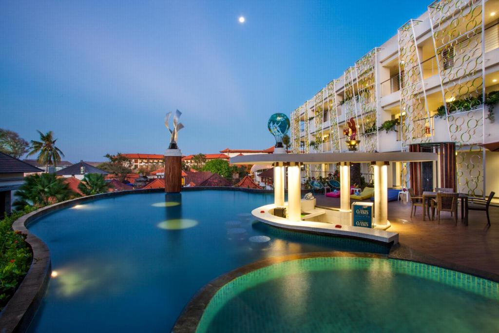 The swimming pool at or near Ion Bali Benoa