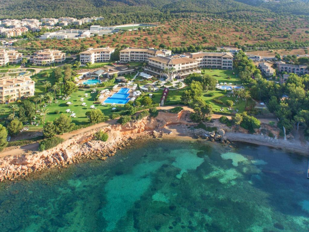 A bird's-eye view of The St. Regis Mardavall Mallorca Resort
