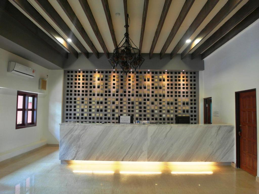 The lobby or reception area at Swiss Hotel Heritage Boutique Melaka