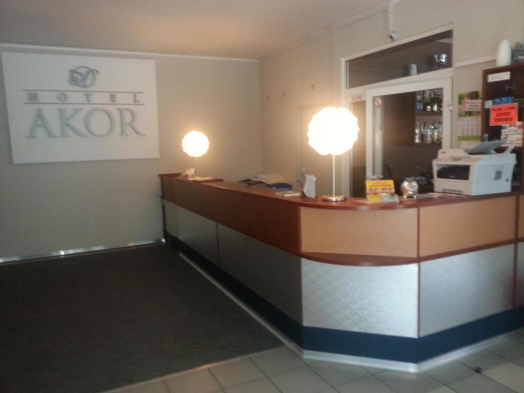 Lobby/Rezeption in der Unterkunft Hotel Akor