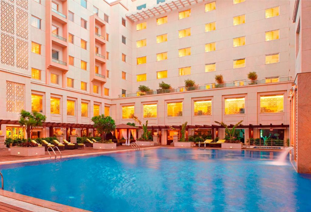 The swimming pool at or near Lemon Tree Premier, Delhi Airport