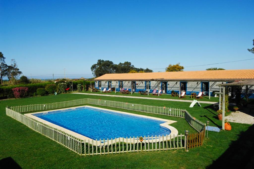 The swimming pool at or near Casa Da Seiceira