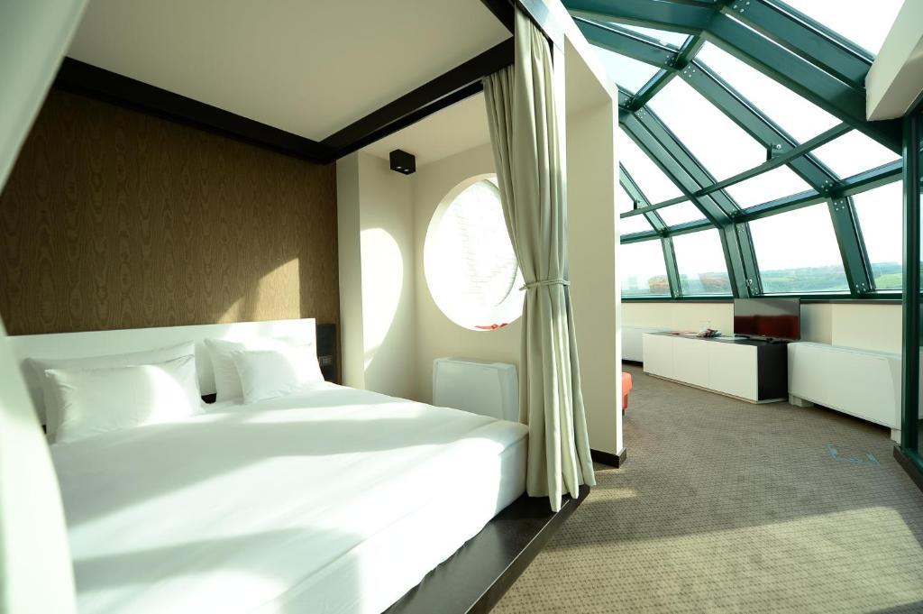 Krevet ili kreveti u jedinici u okviru objekta Hotel Hedonic
