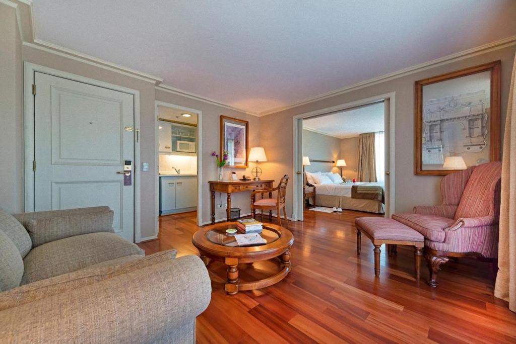 Zona de estar de Hotel Vespucci Suites