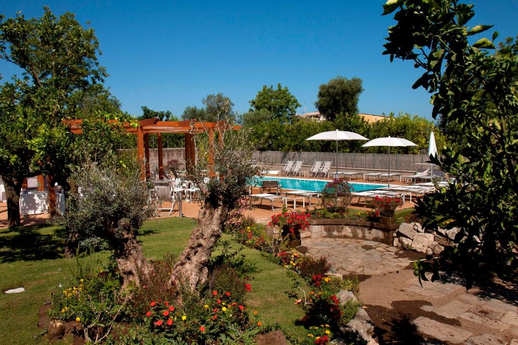 The swimming pool at or near Il Roseto
