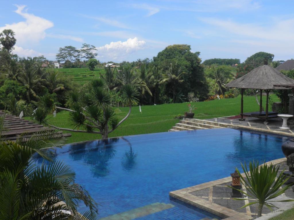 The swimming pool at or near Bumi Ubud Resort