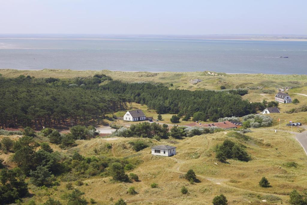 Blick auf Sier aan Zee aus der Vogelperspektive
