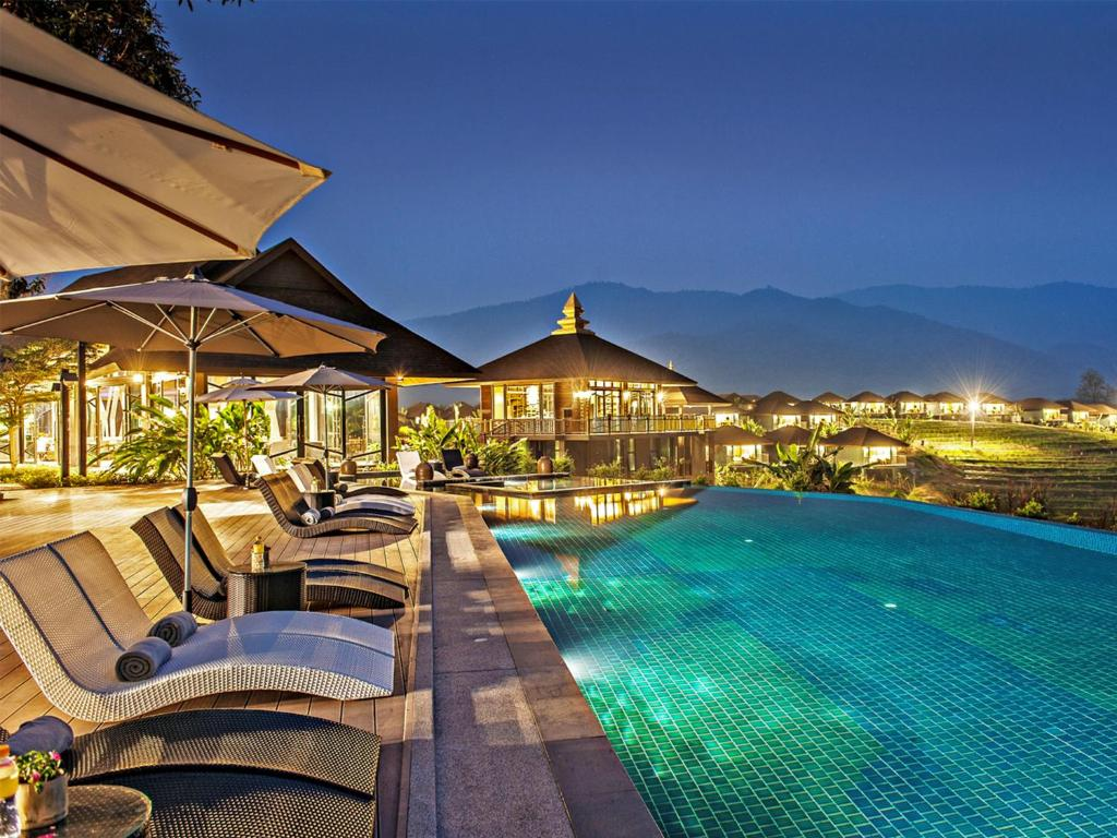 The swimming pool at or near A-Star Phulare Valley, Chiang Rai