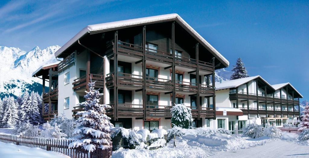 Clubhotel Götzens during the winter