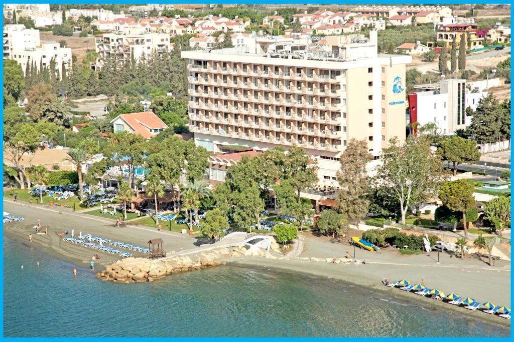 Poseidonia Beach Hotel с высоты птичьего полета