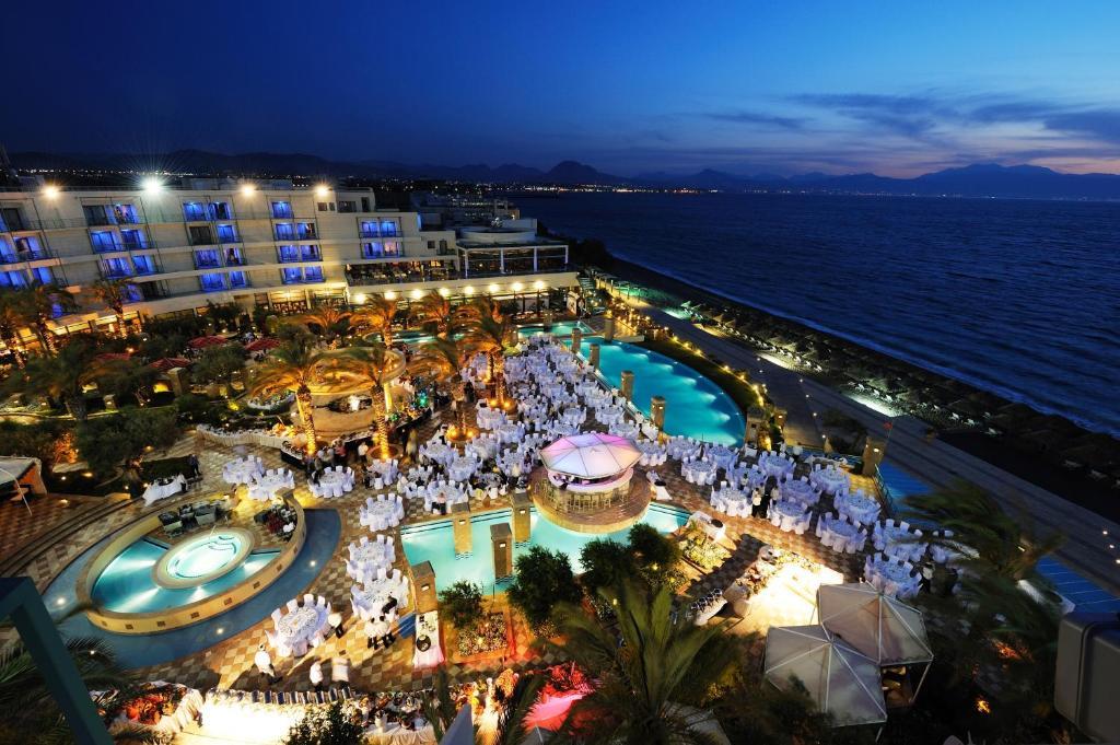 A bird's-eye view of Club Hotel Casino Loutraki