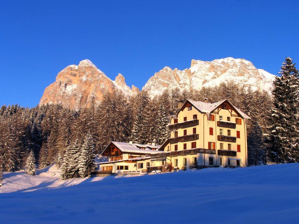 L'établissement Sport Hotel Pocol en hiver