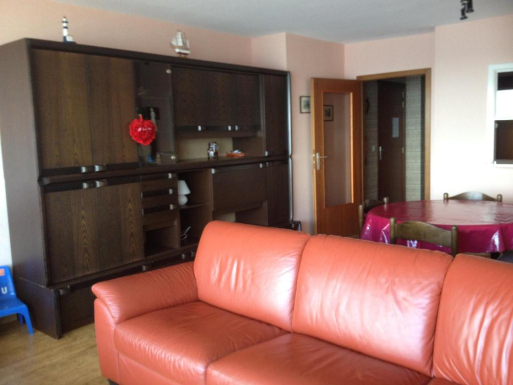 A seating area at Apartment Nord Vrie 8D