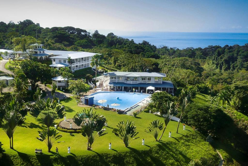 A bird's-eye view of Cristal Ballena Boutique Hotel & Spa