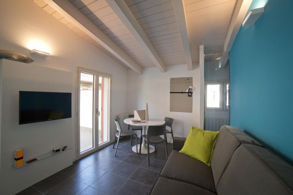 Area soggiorno di Dreams Hotel Residenza De Marchi