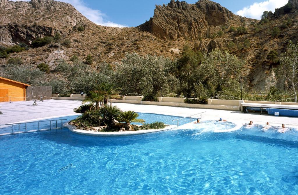 Piscina en o cerca de Balneario de Archena - Hotel Levante