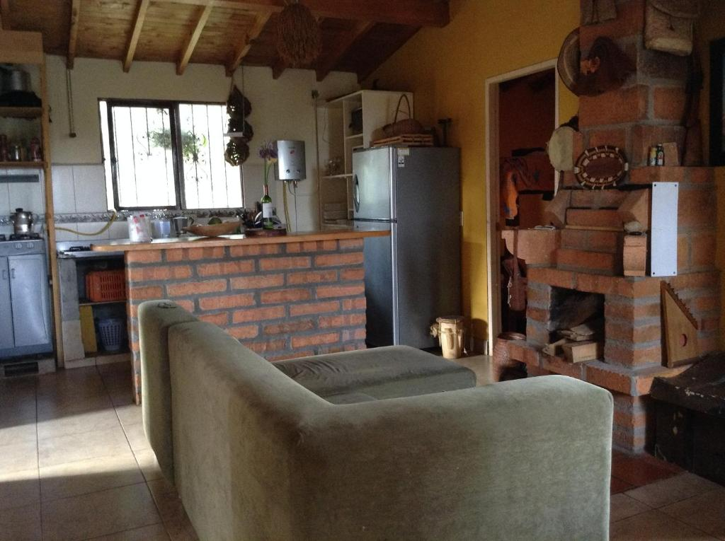 The lounge or bar area at Hostal Donde Rafa