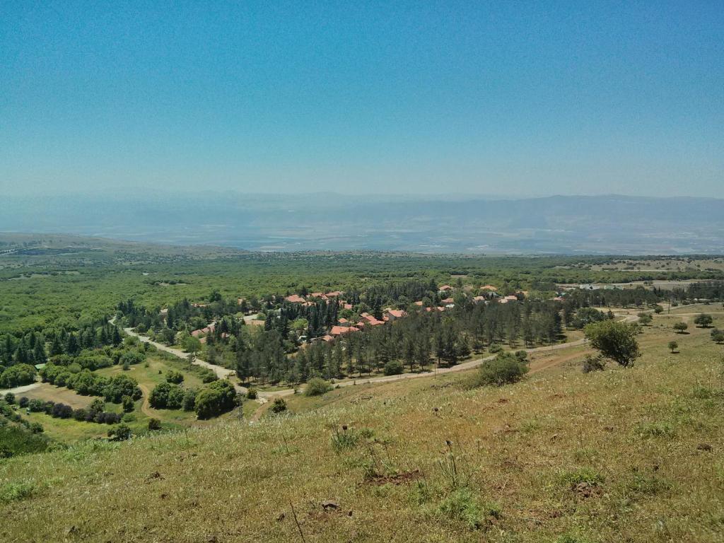 A bird's-eye view of Golan Heights Hostel