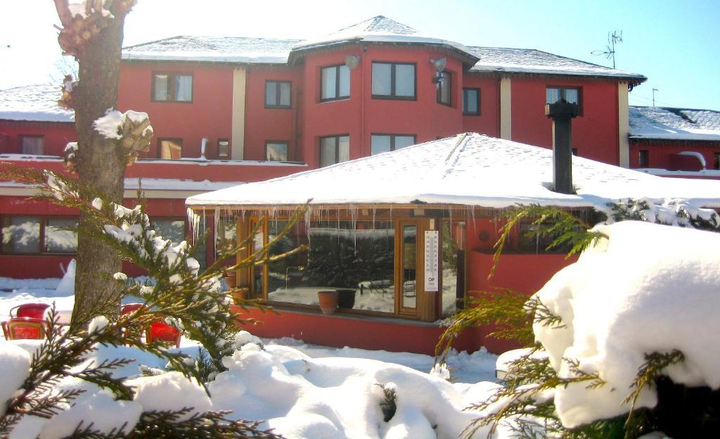 Hotel Del Lago en invierno