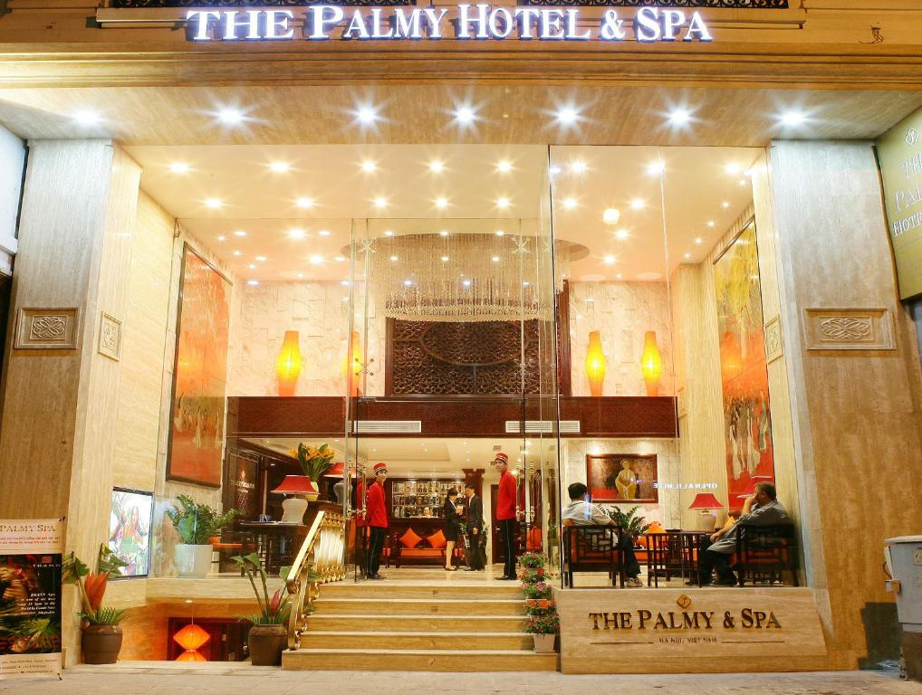 The Palmy Hotel Spa Hanoi Vietnam Booking Com