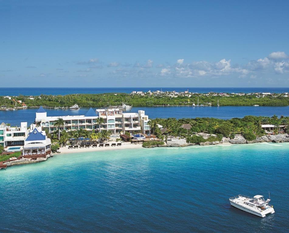 Vista aerea di Zoetry Villa Rolandi Isla Mujeres Cancun-All Inclusive