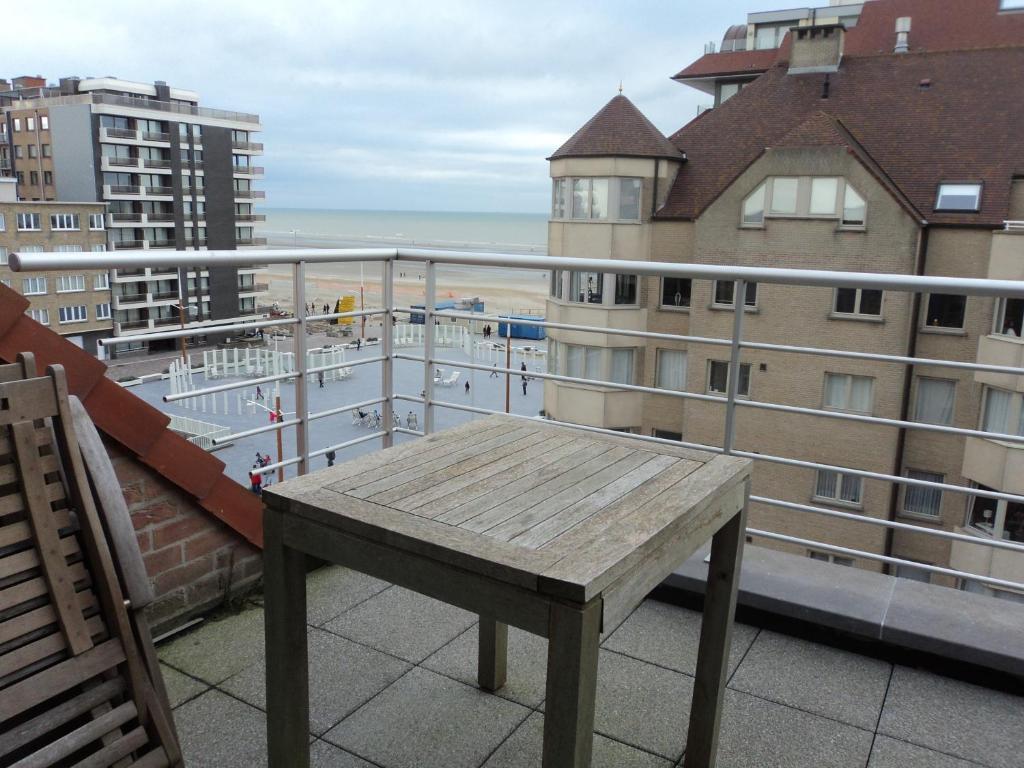 Ein Balkon oder eine Terrasse in der Unterkunft For Ever