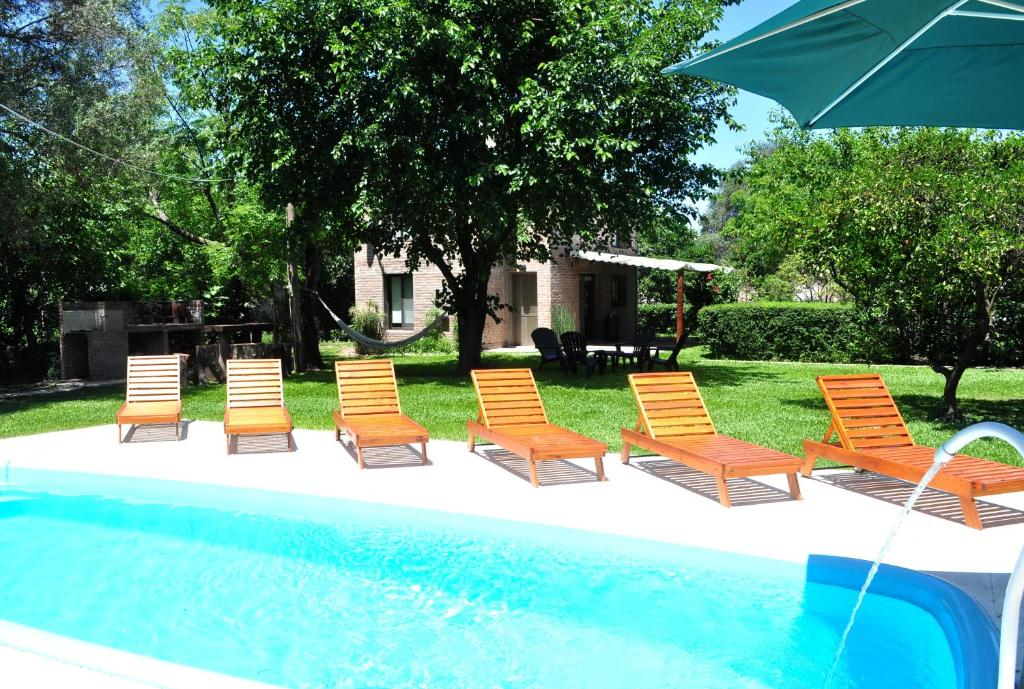 The swimming pool at or near Los Olivos Loft