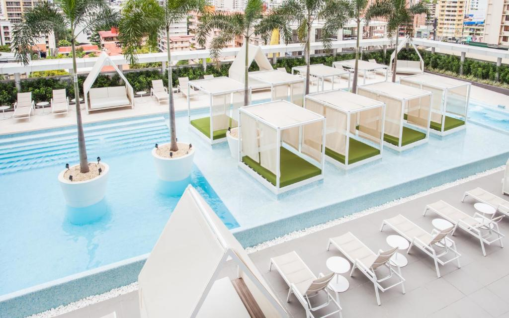 The swimming pool at or near Sortis Hotel, Spa & Casino, Autograph Collection