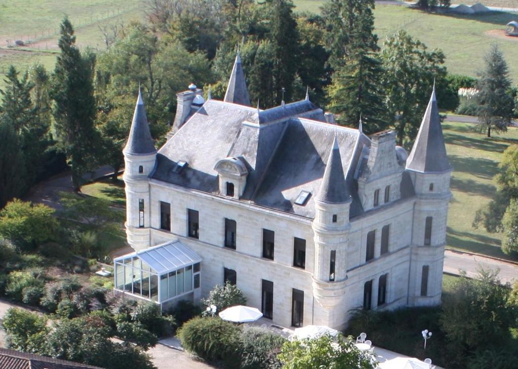 A bird's-eye view of Chateau Camiac