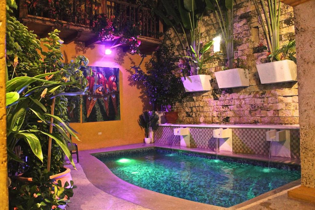 The swimming pool at or near Hotel Casa Gloria Boutique