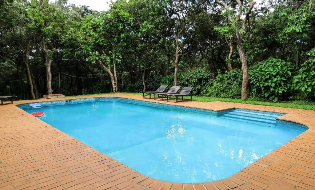 The swimming pool at or near Woodlands Lilongwe