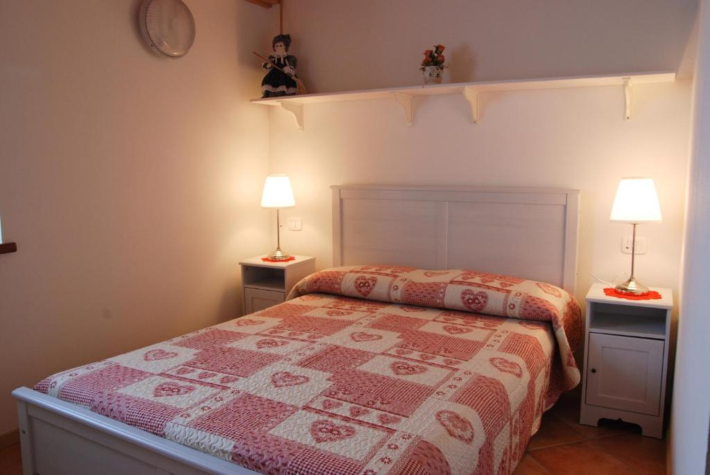 A bed or beds in a room at Agriranch Pra De Dont