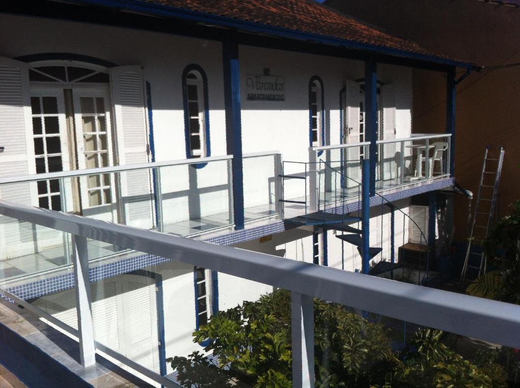 A balcony or terrace at Residencial Varandas