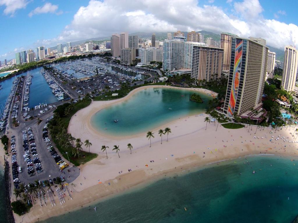 Palms Waikiki #304 항공뷰