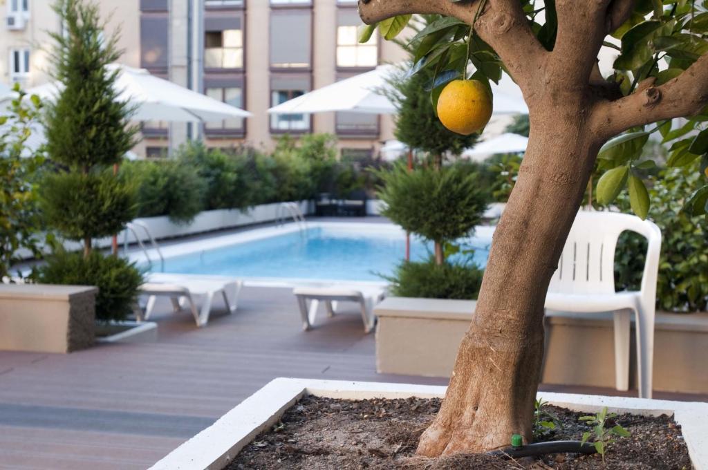 The swimming pool at or near Apartamentos Juan Bravo