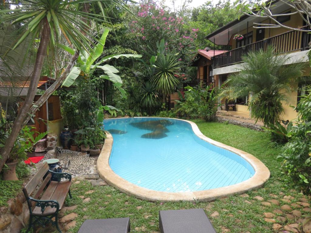 The swimming pool at or near Little Eden Guesthouse