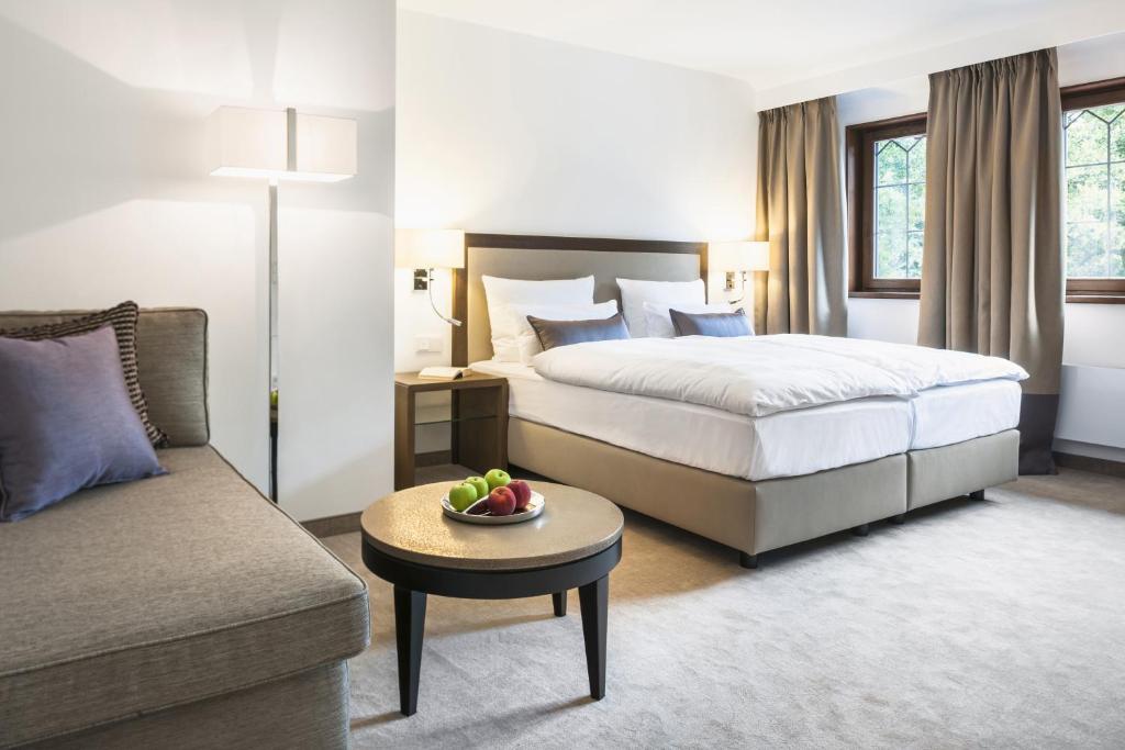 Lova arba lovos apgyvendinimo įstaigoje Hotel Kokenhof