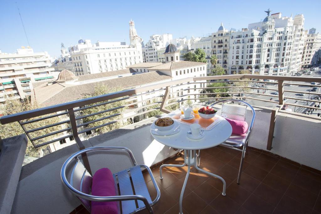A balcony or terrace at Xativa Terrace Apartments