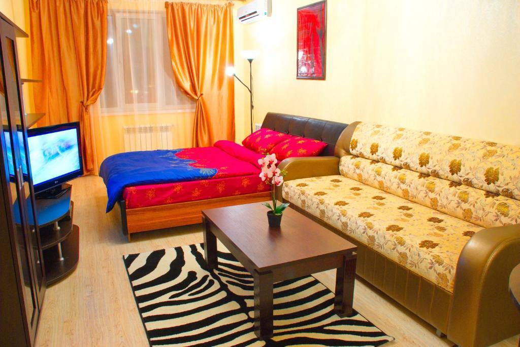 Гостиная зона в Апартаменты Зиповская 5