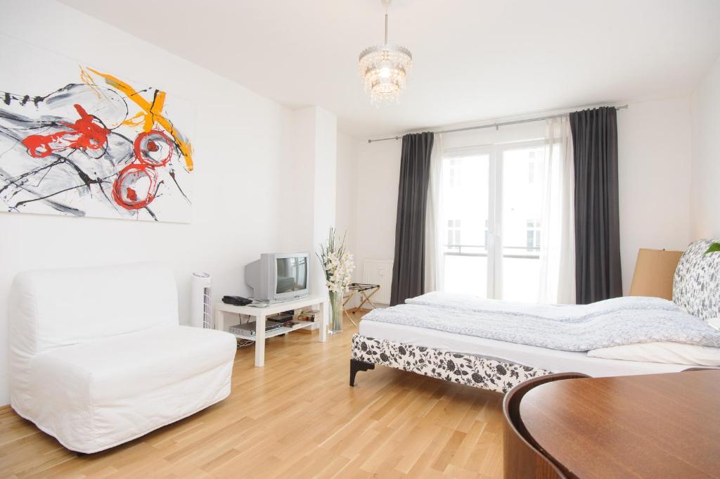 Ein Zimmer in der Unterkunft Vienna Central Apartments