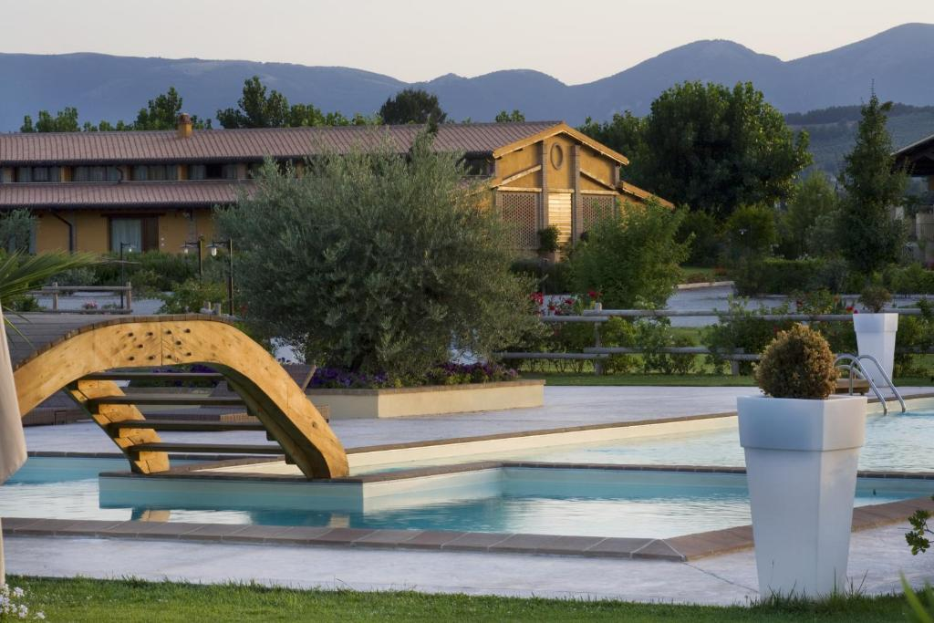 The swimming pool at or near Il Baio Relais & Natural Spa