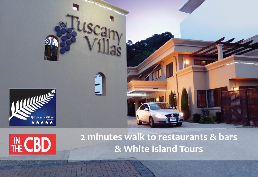Tuscany Villas Whakatane Boutique Hotel