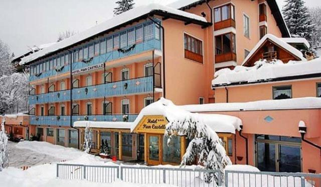 Hotel Piancastello during the winter