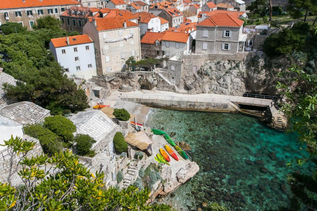 A bird's-eye view of Apartments Heart of Dubrovnik