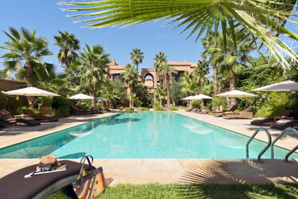 The swimming pool at or close to Tigmiza Boutique Hotel & Spa